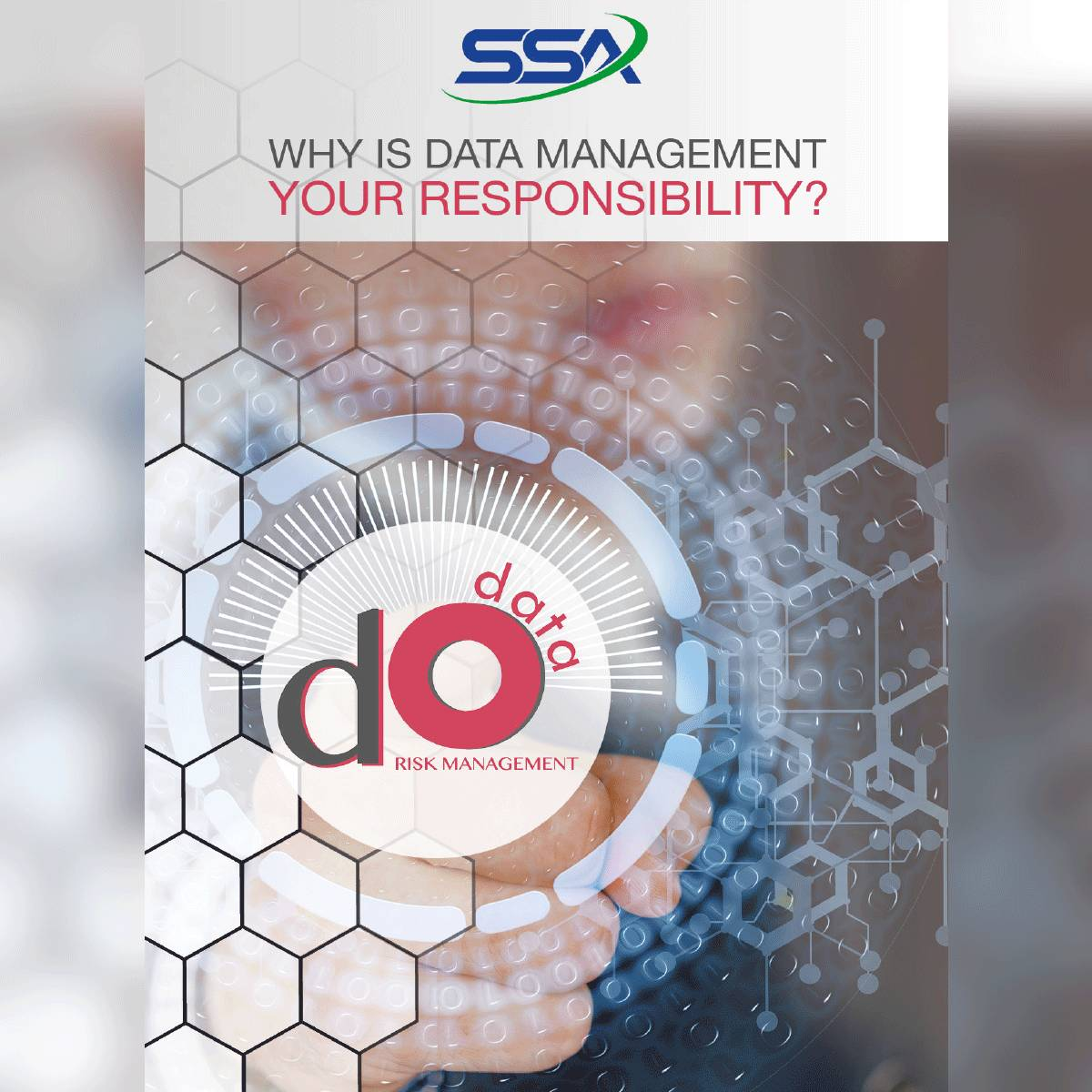 Why is Data Management your responsibility?